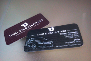 Cartão de Visita - Tj Taxi Executivo